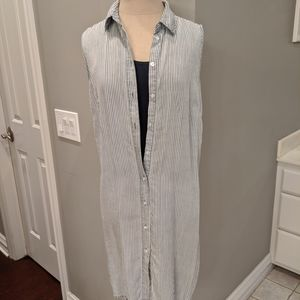 Stripped duster